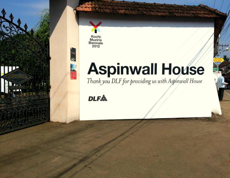 Entering Aspinwall house